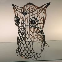 Owl Wire Art