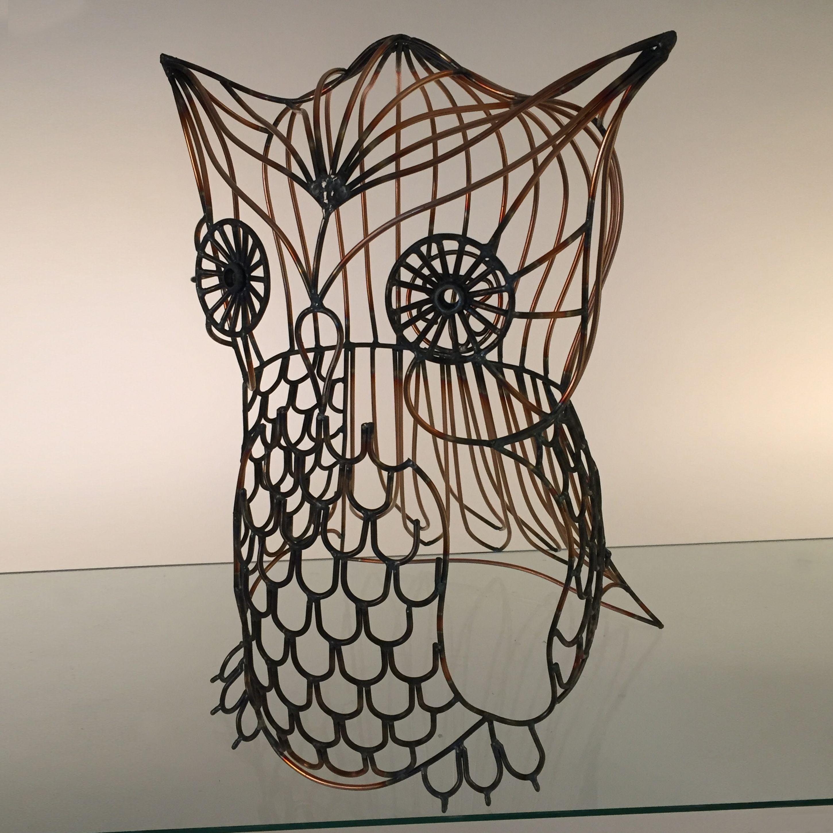 Owl Wire Art - WIRE Center •