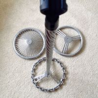 Trio of Steering Wheel Mic Stands
